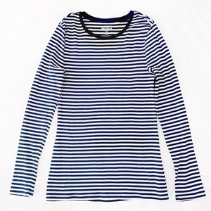 Old Navy Long Sleeve Striped Perfect Tee